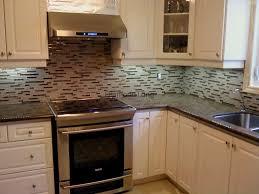 kitchen backsplash tiling granite countertops glass tile