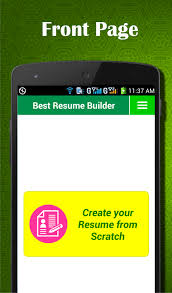 Resume Maker Google Easy Resume Builder Cv Jobs Resume Maker Free Android Apps On