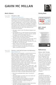 Ceo Resume Example by President Ceo Resume Samples Visualcv Resume Samples Database