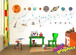 solar system wall decals roselawnlutheran gallery of educational solar system wall decals