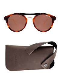 carrera sunglasses vans carrera vintage round sunglasses in brown for men lyst