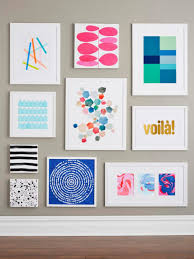 interior diy wall art projects anyone can do hgtv room decorating