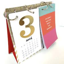 How To Make Your Own Desk Calendar Diy Desktop Calendar U2013 Craftbnb