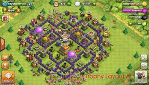 Coc Maps The Mantis Best Base Layout For Town Hall 7 Clash Of Clans