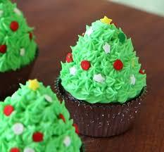 christmas tree cupcakes cake u0026 bake kiwi
