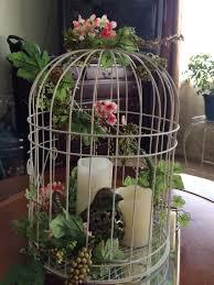 birdcage centerpiece my wreaths pinterest birdcage