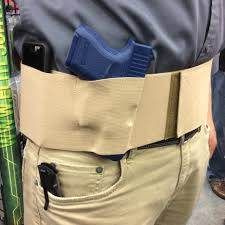belly band holster nra defender belly band holster from elite survival systems
