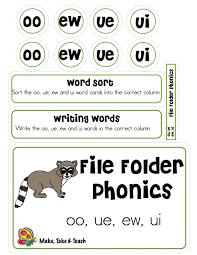 Blending And Segmenting Worksheets Long Vowel Spelling Word Sort U2013 Make Take U0026 Teach