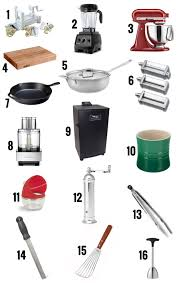 Kitchen Utensils Names by Foodie Holiday Gift Guide