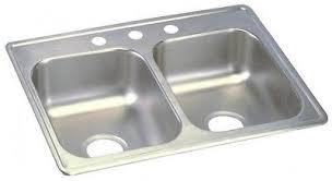 dayton elite stainless steel sink dayton elite top mount 33 in 4 hole double bowl kitchen sink