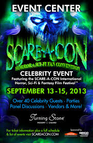 scare a con horror u0026 sci fi fan convention sets dates for