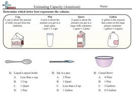 estimating capacity worksheet educational resources and more