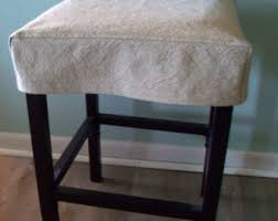 bar chair covers bar stool slipcover etsy