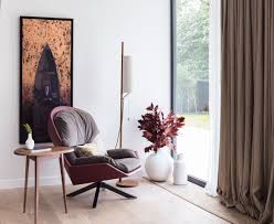 this modern house is brimming with mid century floor lamps