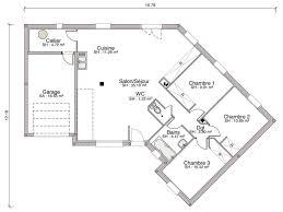 plan de maison plain pied gratuit 3 chambres plans maison plain pied gratuit plan maison moderne plain pied