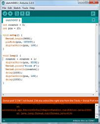 creating your first sketch create your first arduino program