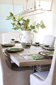 thanksgiving tablescapes ideas blue and green thanksgiving tablescape u0026 a dining room sneak peek