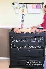 how much is a changing table diaper wall organization a red barn blog tutorial red barns