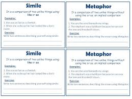 figurative language my poetry booklet figurative language ppt