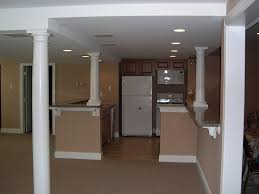 basement kitchen features