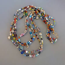 multi bead necklace images Beads multi bead necklace with a nice variety of types colors jpg