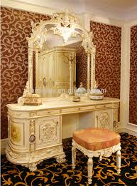 bedroom set with vanity table luxury french rococo bedroom furniture dresser table mirror
