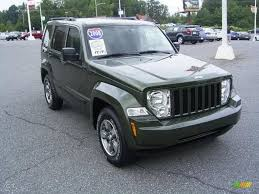 silver jeep liberty 2008 2008 jeep green metallic jeep liberty sport 17548113 photo 4