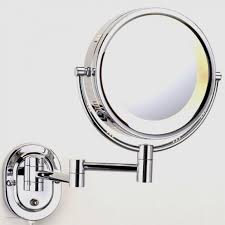 conair chrome magnifying countertop vanity mirror with light conair lighted mirror replacement parts mirror designs