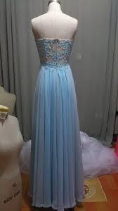 blue prom dresses a line prom dress lace prom dress strapless prom