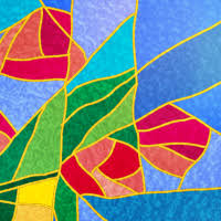 tutorial illustrator glass to create a stained glass effect in illustrator