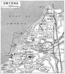 smyrna map turkey historical background