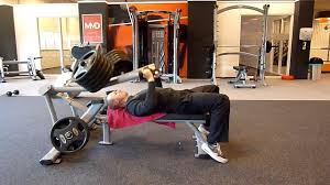 supine bench press youtube