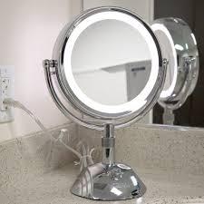 4 led lights mirror circle conair reflections home vanity mirror l0d9mbpl sl1500 ideas amazon