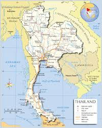 Michigan Area Code Map Regions Map Of Thailand Nations Online Project