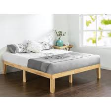 Wood Platform Bed Frames Priage Solid Wood Platform Bed Free Shipping Today