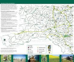 Pullman Washington Map by Palouse Photo Spots Maplets