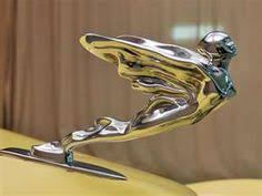 vintage 1941 cadillac flying goddess ornament cool