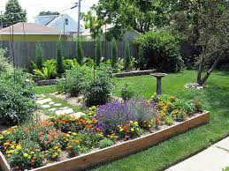 backyard landscape design solutions for outstanding minimalist