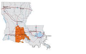 louisiana highway map maps acadiana economic development