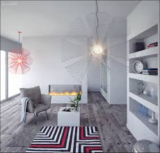 Light Grey Walls White Trim by White Wall Paint Decorating Also Bookshelving Also Pendant Lamp