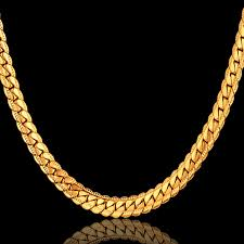 gold chain necklace sizes images Buy 4 size antique snake chain necklace men jpg