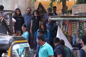 anushka sharma spotted shooting for imtiaz ali u0027s next in mumbai