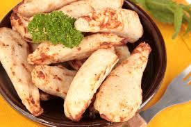 cuisiner des aiguillettes de poulet recette de aiguillettes de poulet au gingembre recettes diététiques