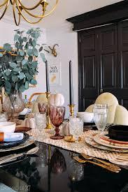 bohemian eclectic thanksgiving tablescape domicile 37