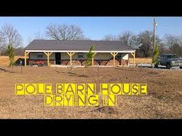 Cheap Barn Homes How To Build A Pole Barn House For Cheap Youtube