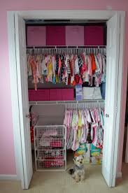 simple bedroom with baby nursery closet organizers white wire