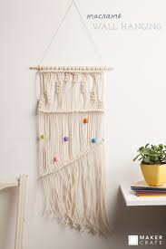 wall hanging picture for home decoration macrame wall hanging maker crate