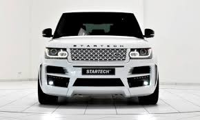 range rover white 2015 2013 2015 range rover by startech brings best of brabus tech to