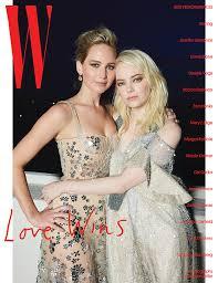 emma stone and jennifer lawrence friends emma stone shares the slightly creepy origin of her love story