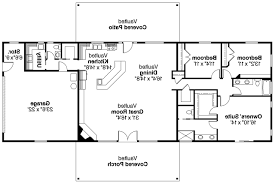 floor plan of ranch house plan 73152 2016 sq ranch house plans